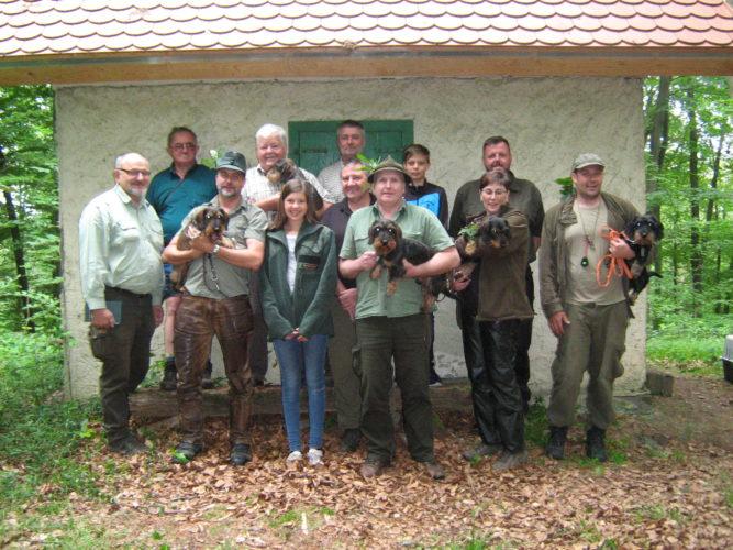 SchwhK, SchwhKF, JBN und Wassertest – 17. Juni 2018 in Eschenau