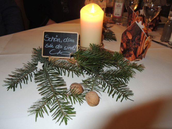 Weihnachtlicher Stammtisch in Eschenau - 14. Dezember 2018