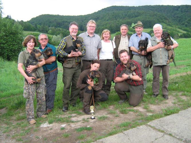 SchwhKF/SchwhK-Prüfung, JBN und Wa.T. – 16. Juni 2019 in Eschenau