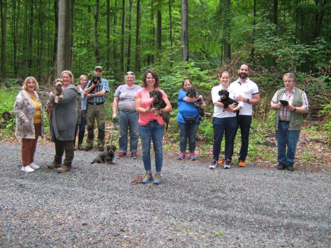 BHP1-Prüfung am 17. Juni 2020 in Eschenau